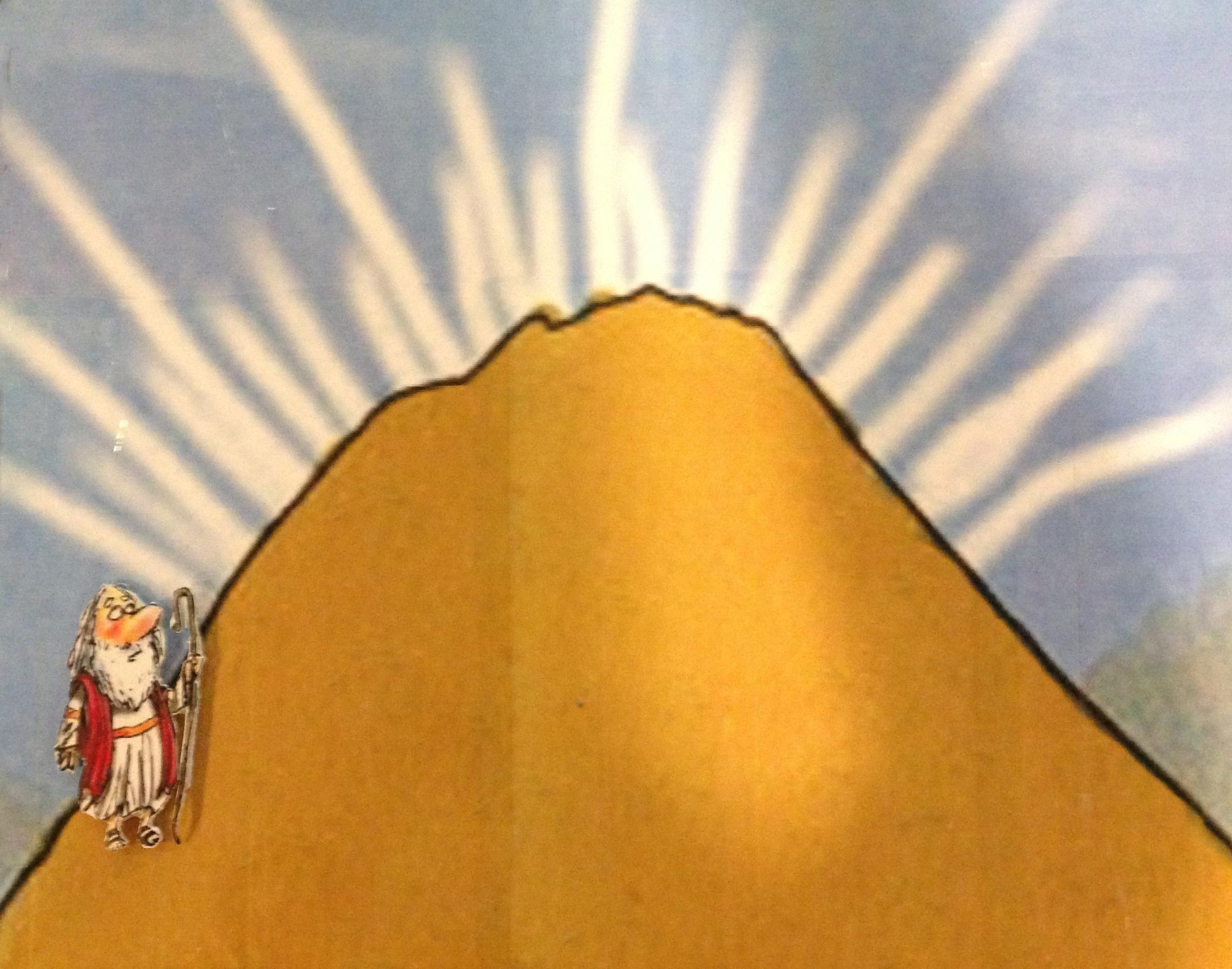 moses mt sinai and the ten commandments